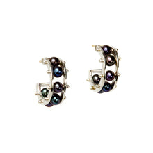 Load image into Gallery viewer, Tambourine Petite Hoop Earring