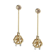 Ferris Wheel Diamond Earring