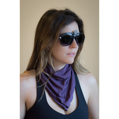 Bandana - 6 Colors of Bamboo | Fully Customizable w Hair Clips/Ties
