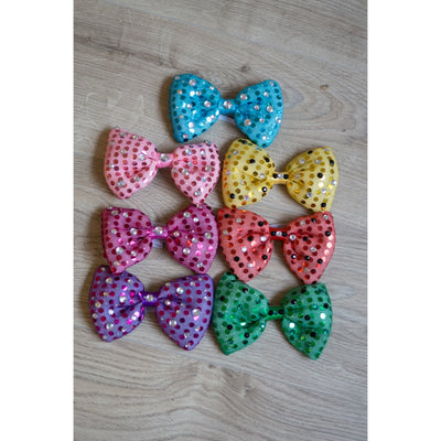 Festival LED Bow | Glow In The Dark Bow Tie | Light Up Hair Bow