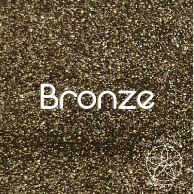 Biodegradable Fine Green Glitter - Bronze| Metallic Costmetic Glitter