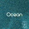 Biodegradable Fine Green Glitter - Ocean | Blue Green Cosmetic & Craft Glitter
