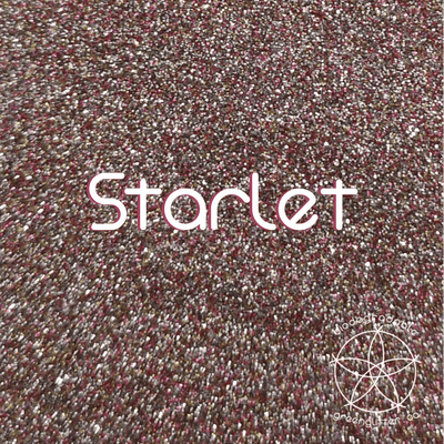 Biodegradable Fine Green Glitter - Starlet | Light Pink Cosmetic & Craft Glitter