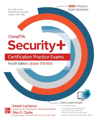 Comptia Security+ Certification Practice Exams, Fourth Edition (Exam Sy0-601) by LaChance, Daniel