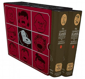 The Complete Peanuts 1955-1958: Gift Box Set - Hardcover by Schulz, Charles M.