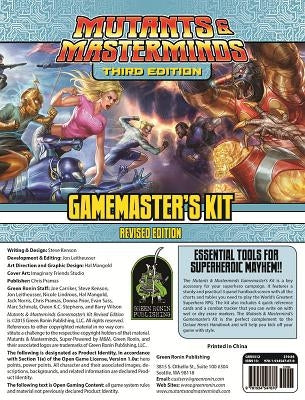 Mutants & Masterminds Gamemaster's Kit, Revised Edition by Kenson, Steve