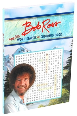 Bob Ross Word Search and Coloring Book by Editors of Thunder Bay Press