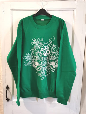 ON SALE Sugar Skull Sweater