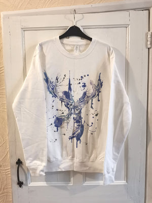 ON SALE Icy Stag Sweater
