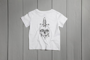 Kids Skull and Dagger T-Shirt