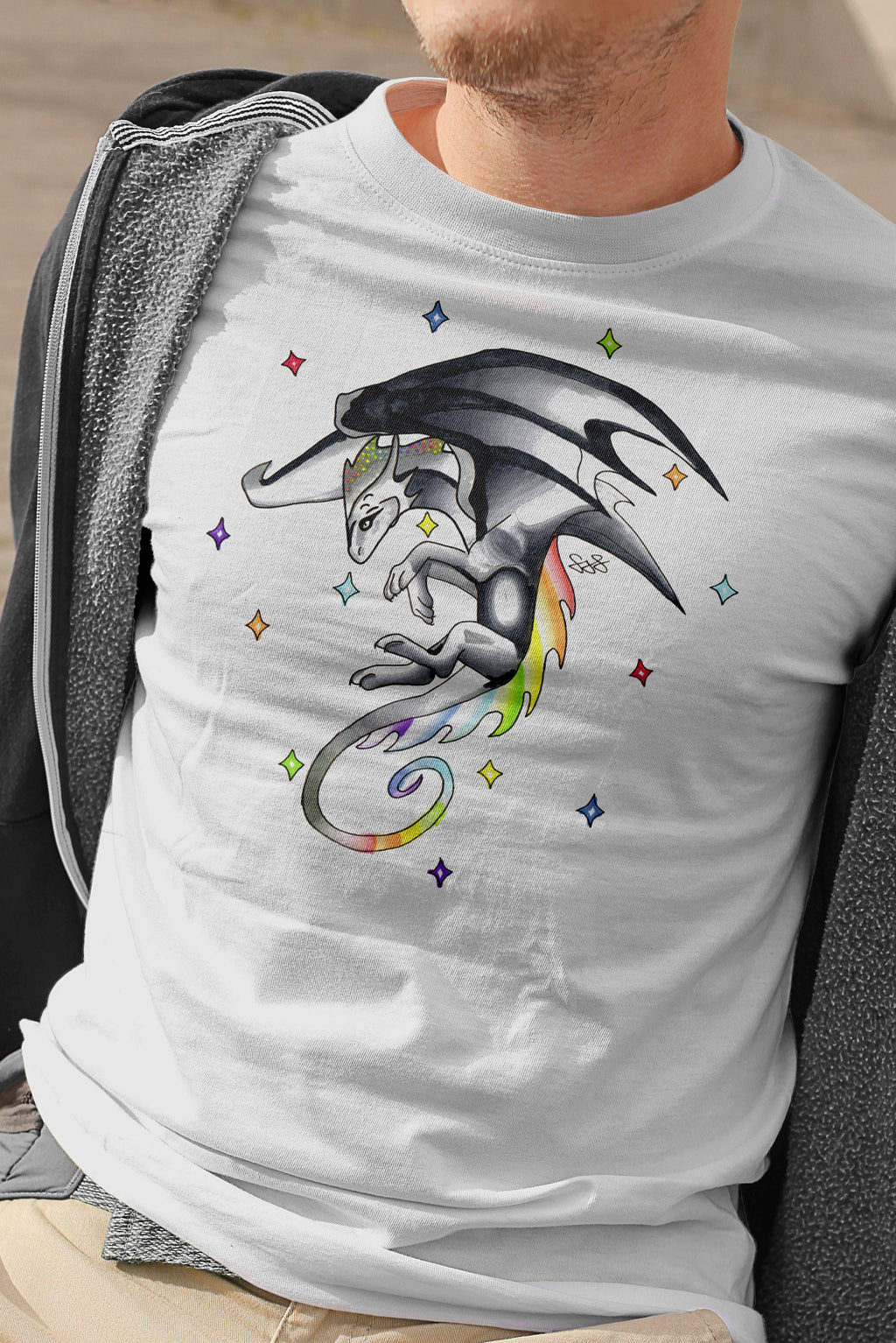 Mens Dragon T-Shirt