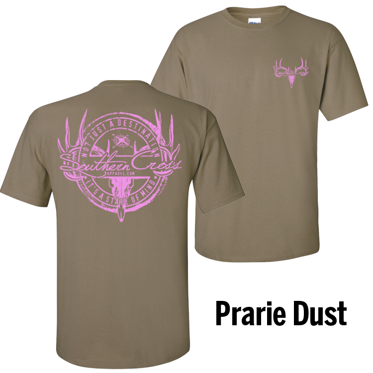 Hunting Stamp Prairie Dust Short Sleeve 3XL, T-Shirts - Southern Cross Apparel