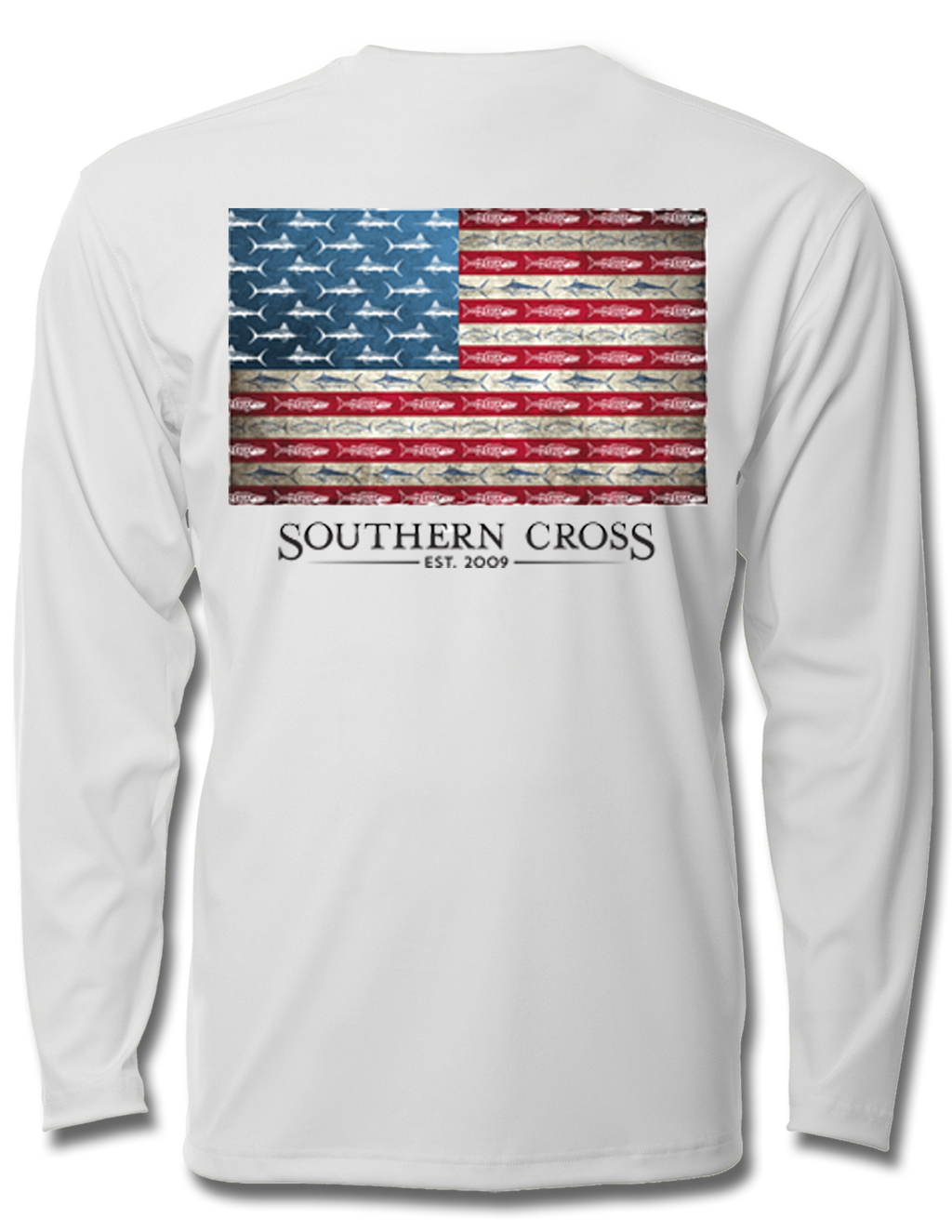 American Flag & Release Youth Performance Long Sleeve, Performance Gear - Southern Cross Apparel