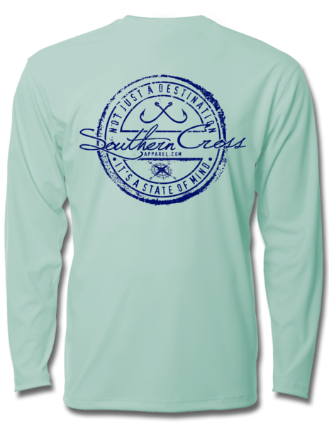 Fishing Stamp Toddler Performance Long Sleeve, Performance Gear - Southern Cross Apparel
