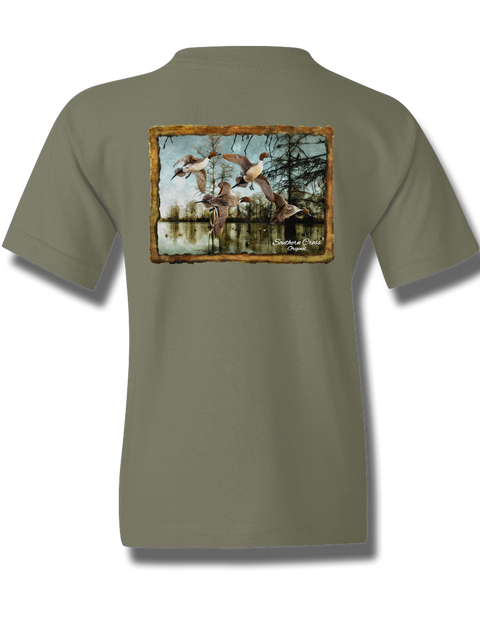 Pintail Bayou Toddler Short Sleeve, T-Shirts - Southern Cross Apparel