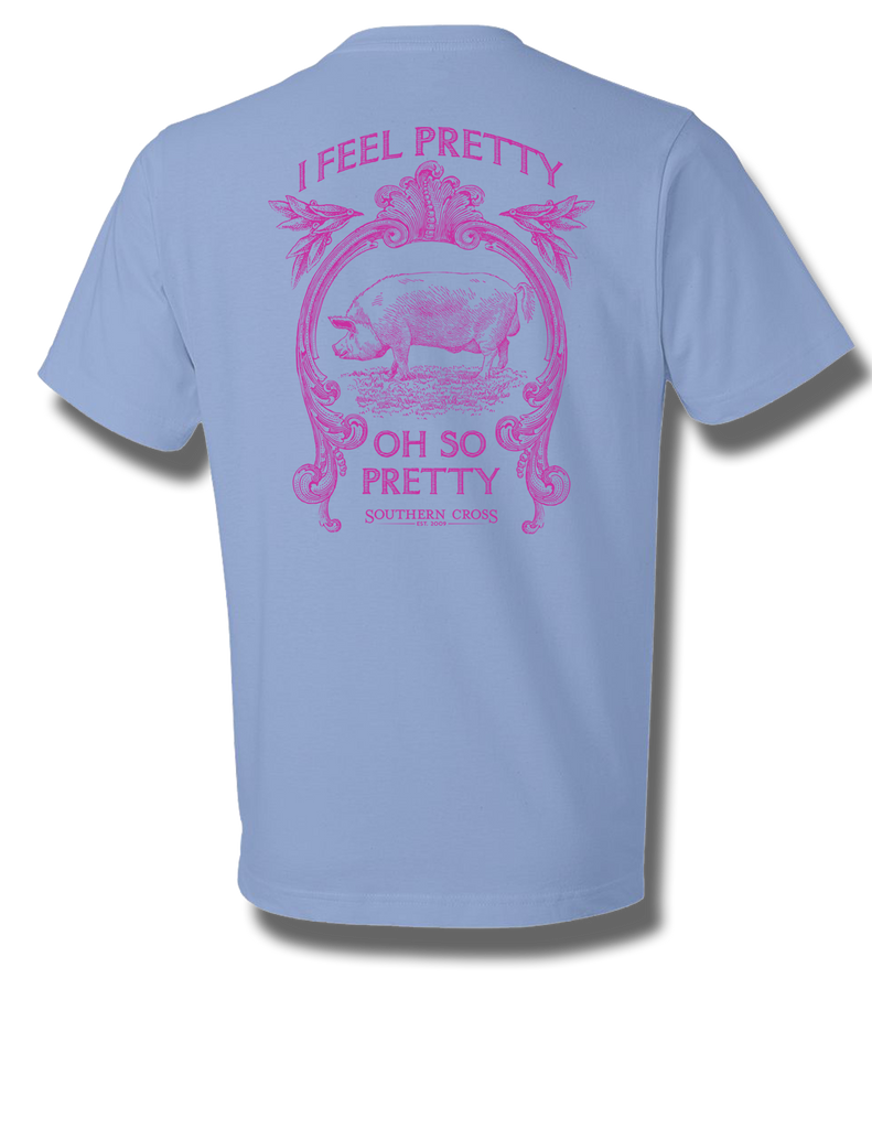 I Feel Pretty Youth Short Sleeve, T-Shirts - Southern Cross Apparel