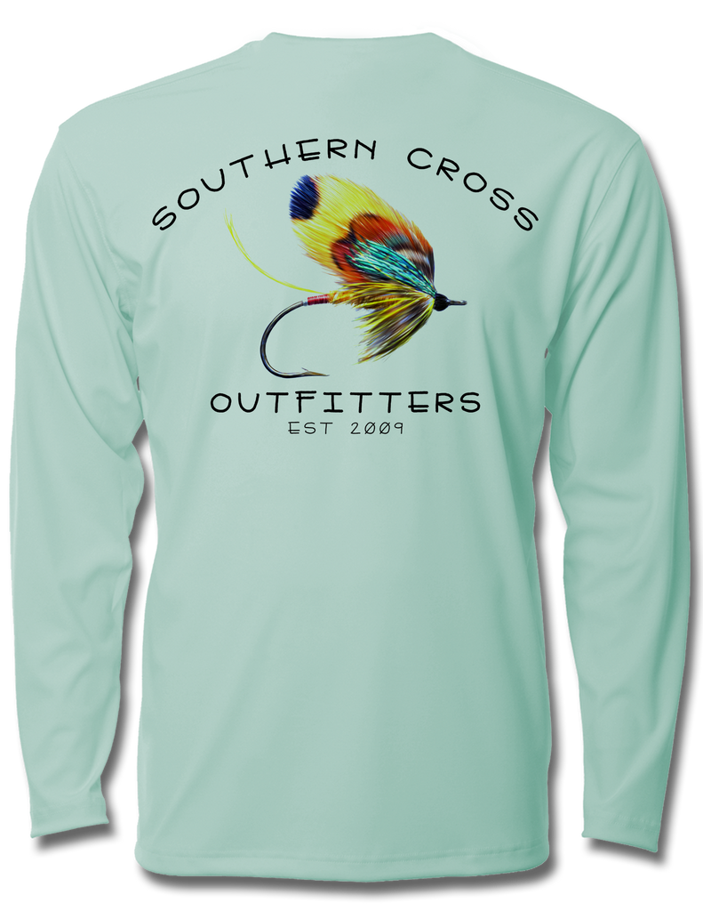 On The Fly Kids Performance Long Sleeve, Performance Gear - Southern Cross Apparel