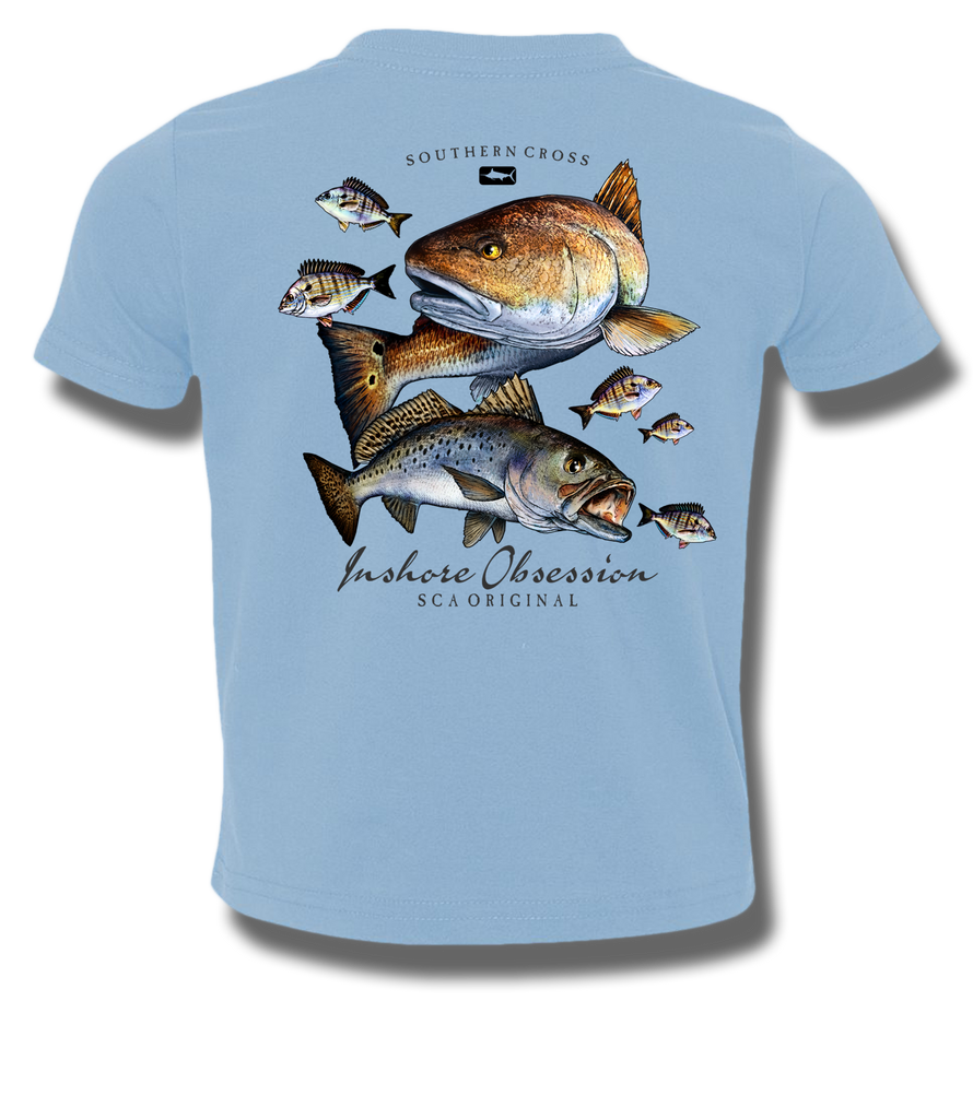 Inshore Obsession Kids Short Sleeve