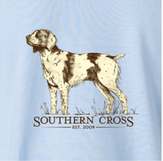 Brittany Spaniel Kids Long Sleeve, T-Shirts - Southern Cross Apparel