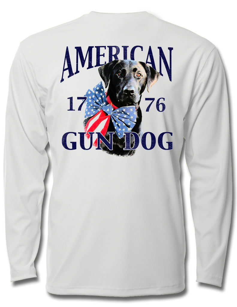 American Gun Dog Kids Long Sleeve Performance, Performance Gear - Southern Cross Apparel