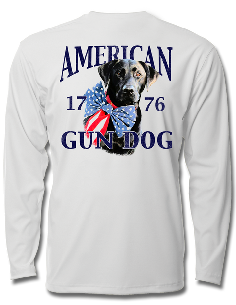 American Gun Dog Kids Performance Long Sleeve, Performance Gear - Southern Cross Apparel