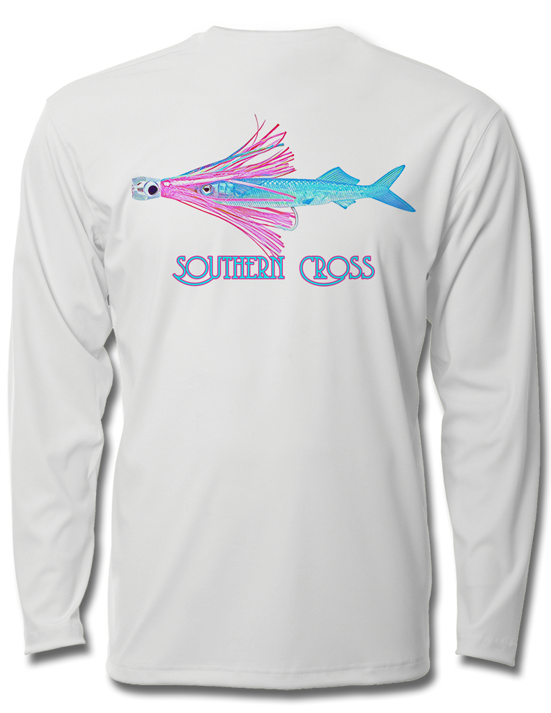 Rig Em Right Ladies Performance Long Sleeve, Performance Gear - Southern Cross Apparel