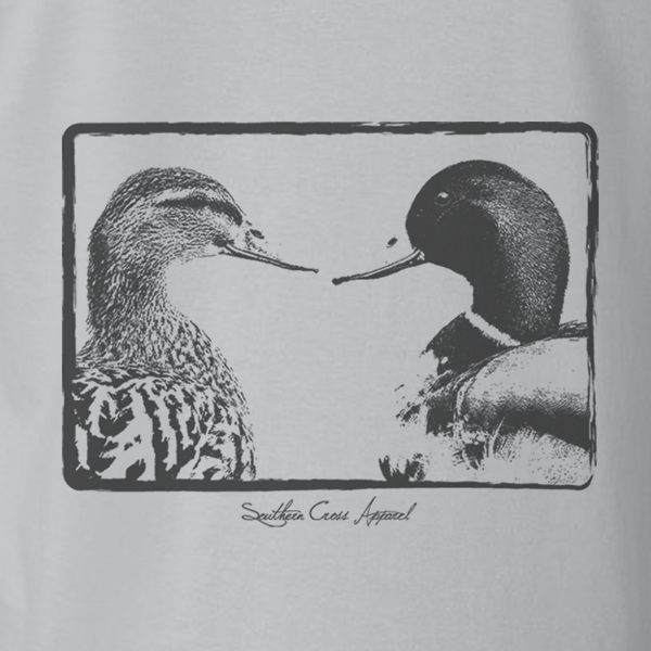 Duck Kisses Kids Short Sleeve, T-Shirts - Southern Cross Apparel