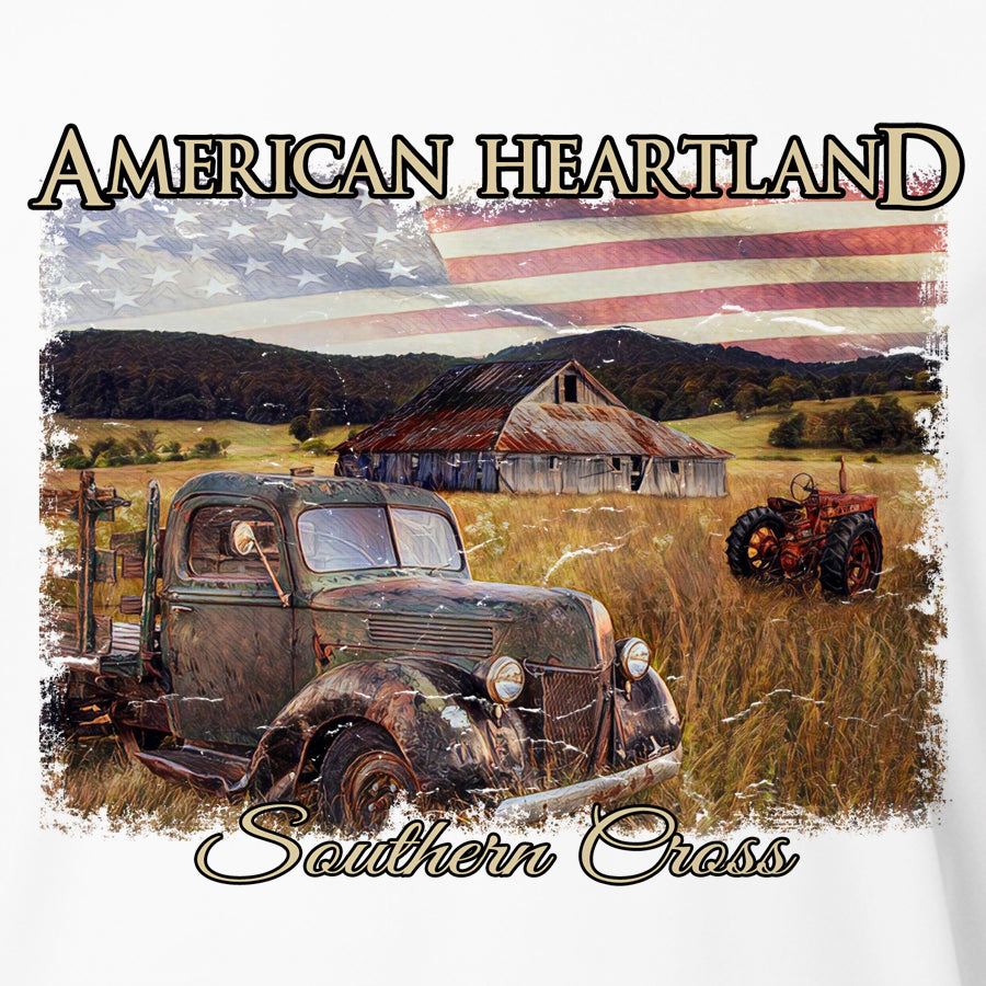 American Heartland Kids Long Sleeve Performance, Kids LS Performance - Southern Cross Apparel
