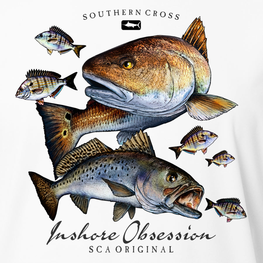 Inshore Obsession Kids Long Sleeve Performance