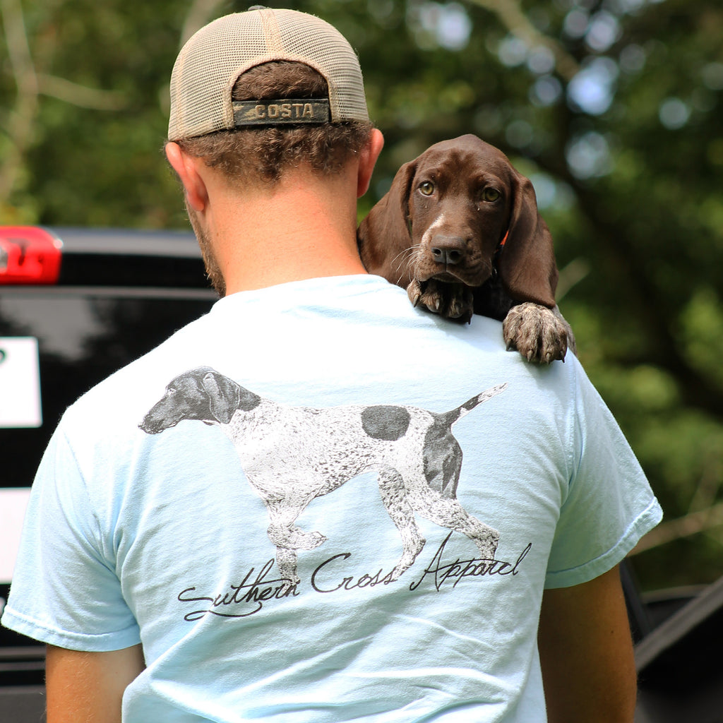 Pointer Short Sleeve, T-Shirts - Southern Cross Apparel