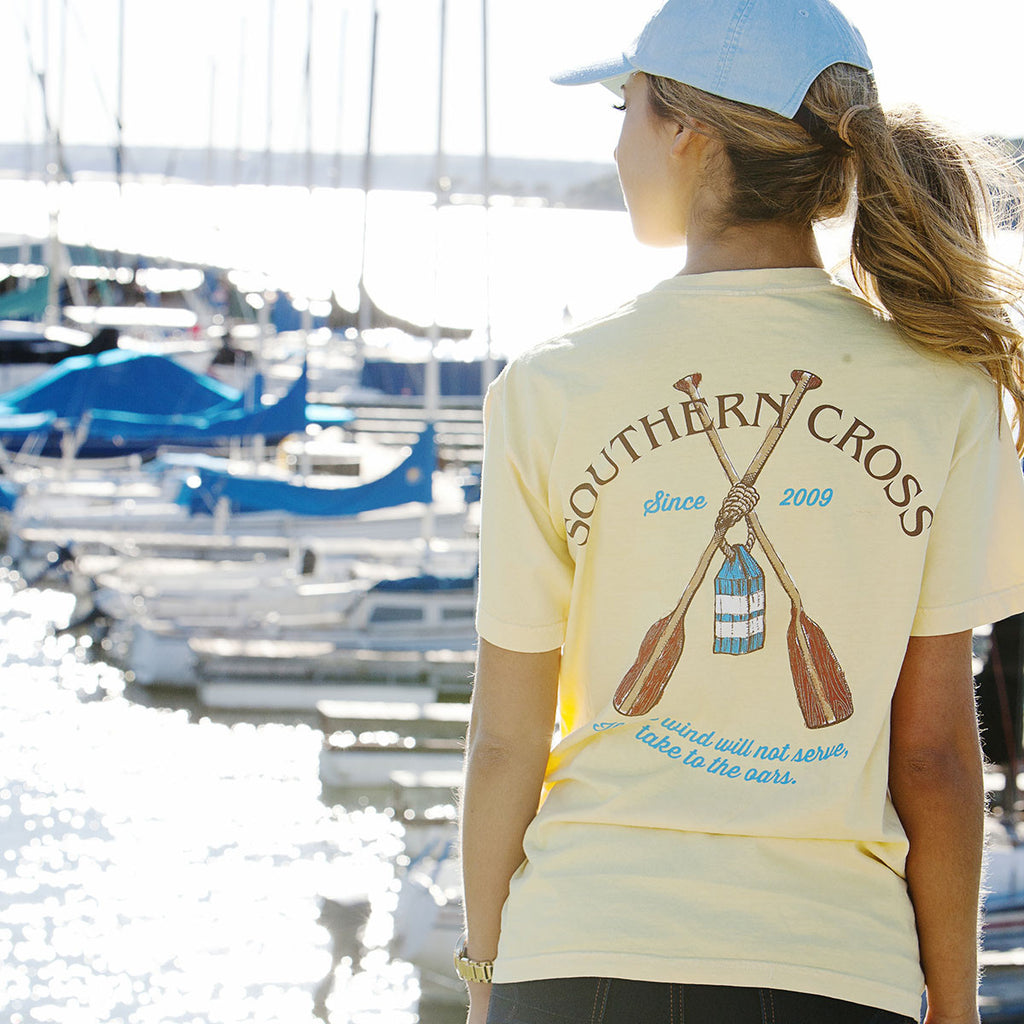 Take to the Oars Short Sleeve, T-Shirts - Southern Cross Apparel