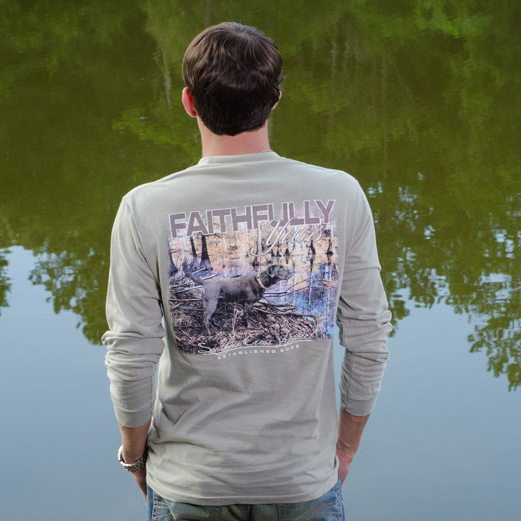 Faithfully Yours Long Sleeve, T-Shirts - Southern Cross Apparel