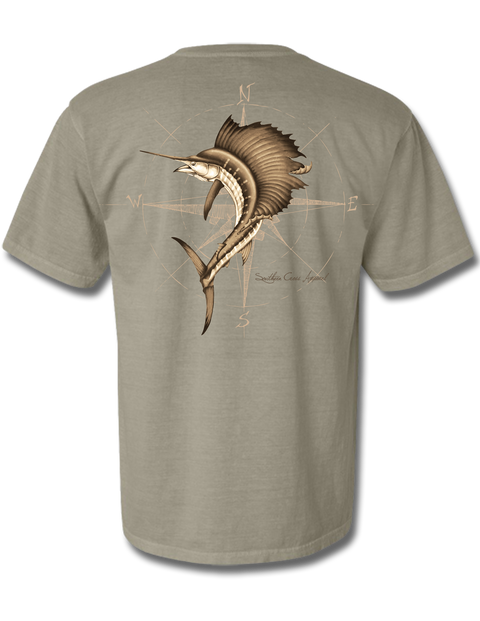 4 Winds Sandstone Short Sleeve Small, T-Shirts - Southern Cross Apparel