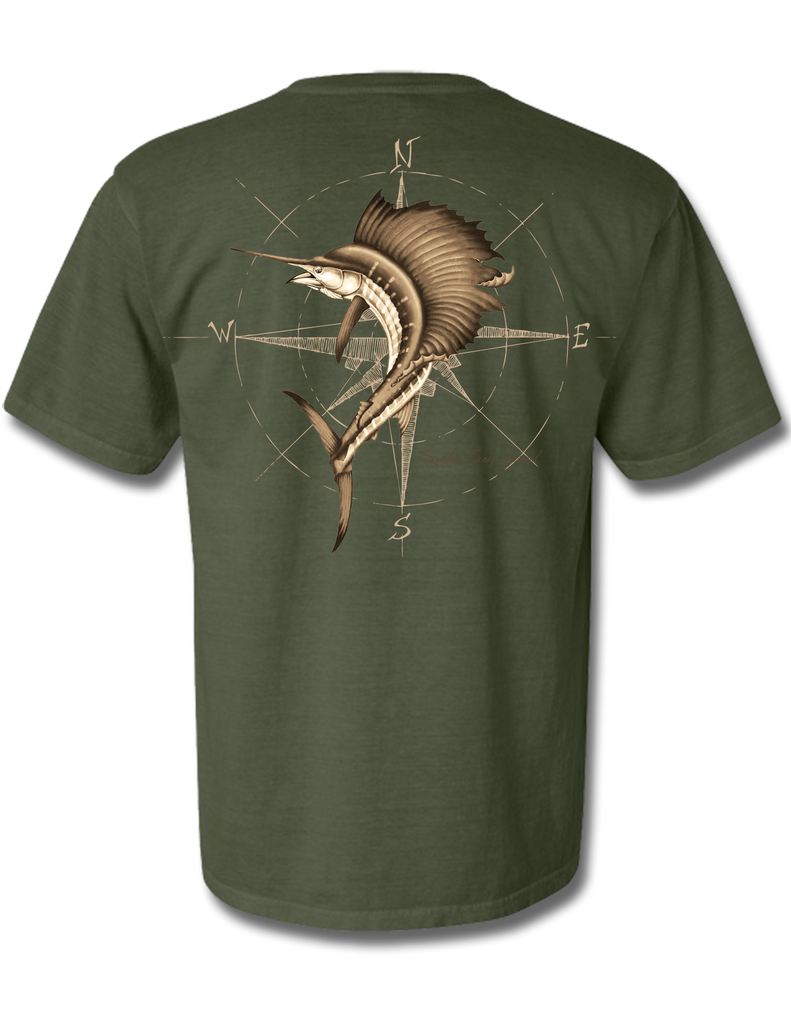 4 Winds Hemp Short Sleeve Small, T-Shirts - Southern Cross Apparel