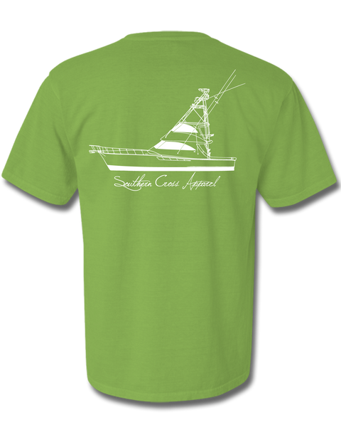57 Sportfisher Short Sleeve Kiwi Small, T-Shirts - Southern Cross Apparel
