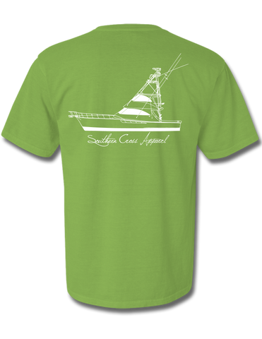 57 Sportfisher Short Sleeve Kiwi Small