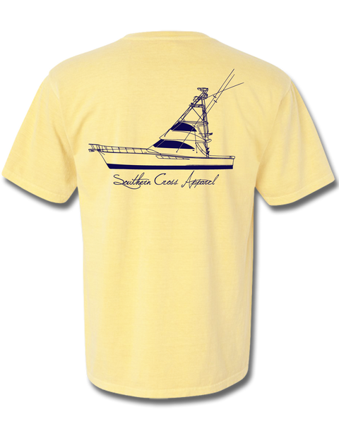 57 Sportfisher Butter Short Sleeve Small, T-Shirts - Southern Cross Apparel