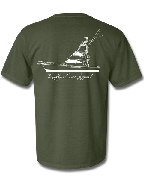 57 Sportfisher Hemp Short Sleeve Small, T-Shirts - Southern Cross Apparel