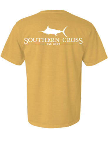 SCA Logo Mustard Short Sleeve with pocket Small