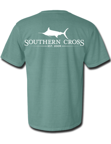 SCA Logo Light Green Short Sleeve Small