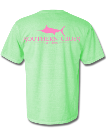 SCA Logo (pink)  Island Reef Short Sleeve with pocket Small