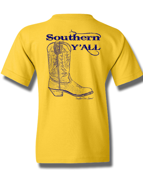 Southern Y'all Youth Short Sleeve Daisy X-Small
