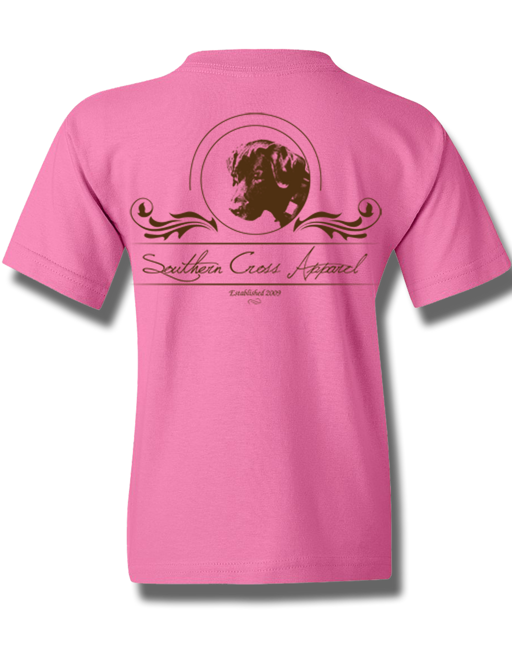 Faith Oval Azalea Youth Short Sleeve S, T-Shirt - Southern Cross Apparel