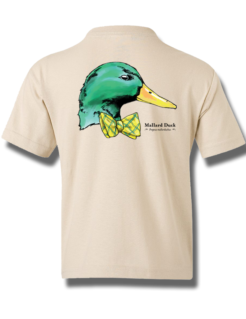 Mallard Prep Sand Youth Short Sleeve XS, T-Shirts - Southern Cross Apparel