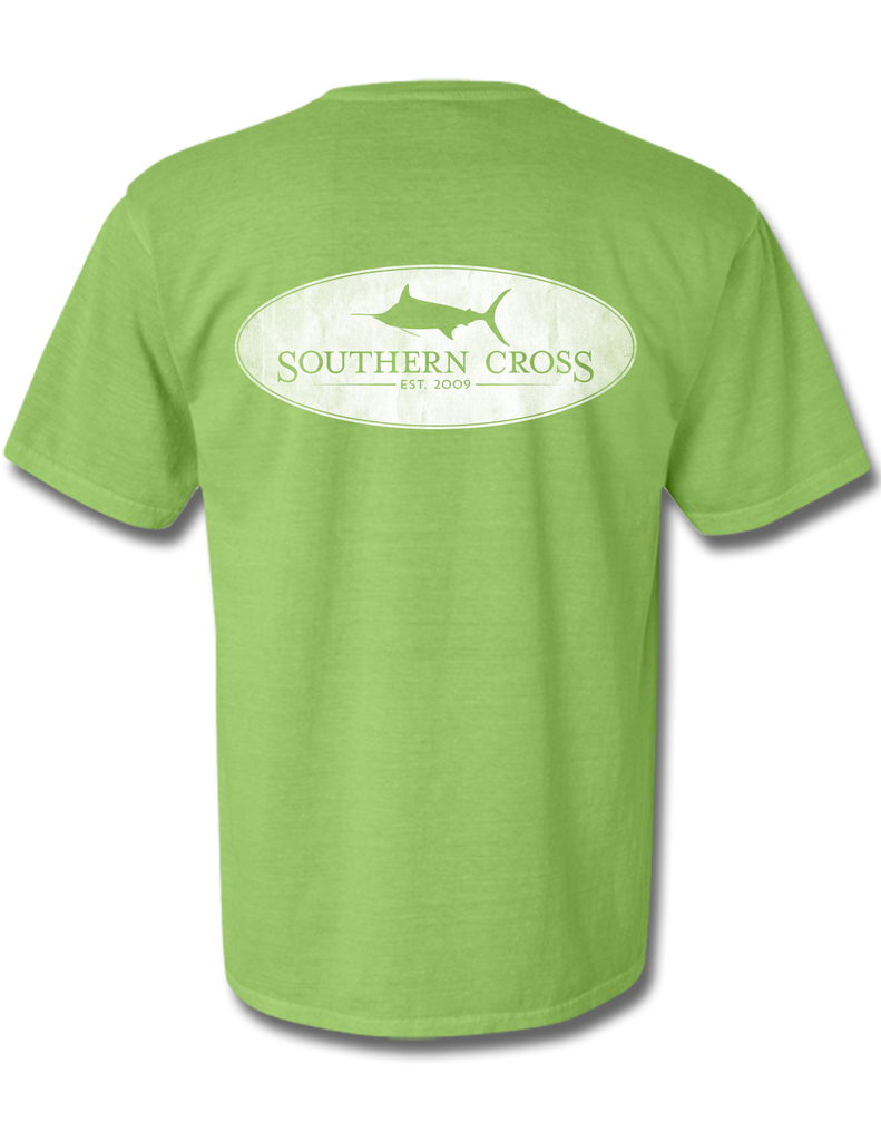Marlin Oval Kiwi Youth Short Sleeve L, T-Shirts - Southern Cross Apparel