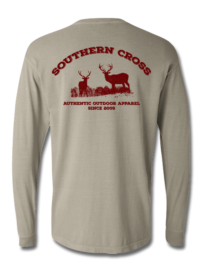 Staggering Bachelors Long Sleeve, T-Shirts - Southern Cross Apparel