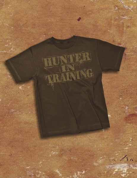 Hunter in Training Brown Toddler SS 12mo, T-Shirts - Southern Cross Apparel