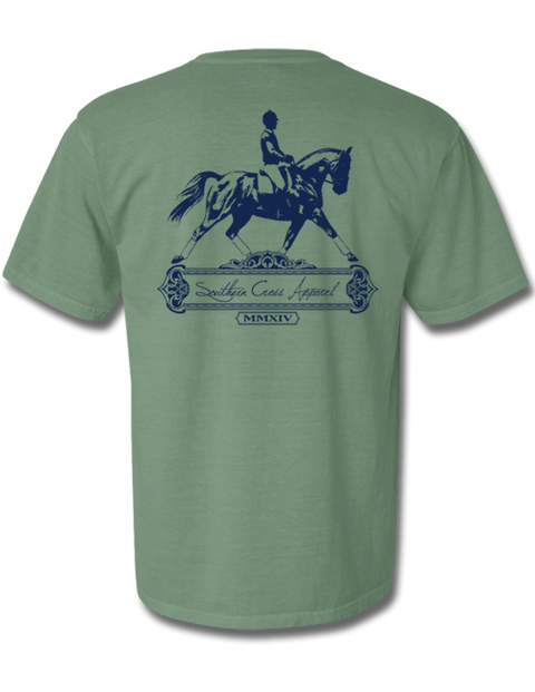 Dressage Short Sleeve Light Green Small