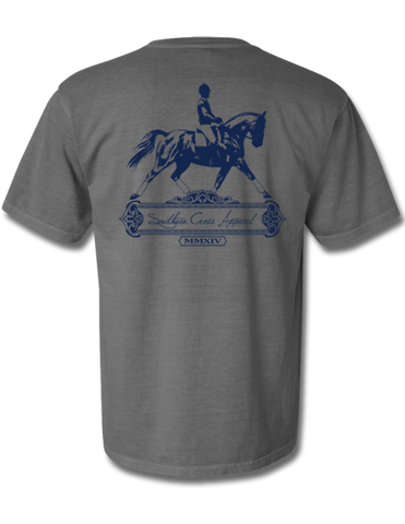 Dressage Short Sleeve Grey Small