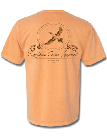 Pintail Oval Short Sleeve Melon Small